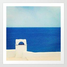 Composition grecque Art Print