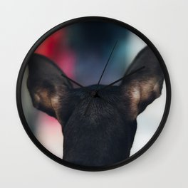 Head shot Wall Clock