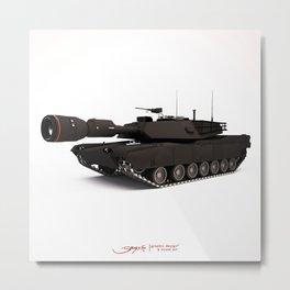 Photographer Tank Metal Print