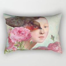 The Silent Garden Rectangular Pillow