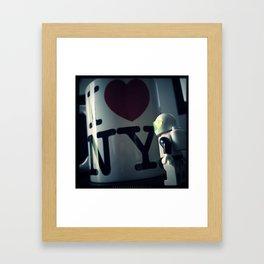 New York Neil Framed Art Print