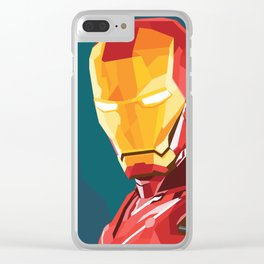 The Iron Man Clear iPhone Case