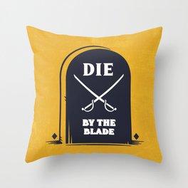 THE BLADE Throw Pillow