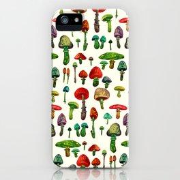 littel mushrooms iPhone Case