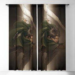 Levi Ackerman Blackout Curtain