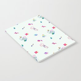 Medical Mania - White Notebook