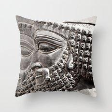 Persian Guards Throw Pillow