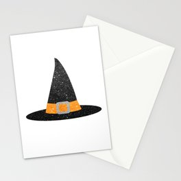 Glitter Witch Hat Stationery Cards