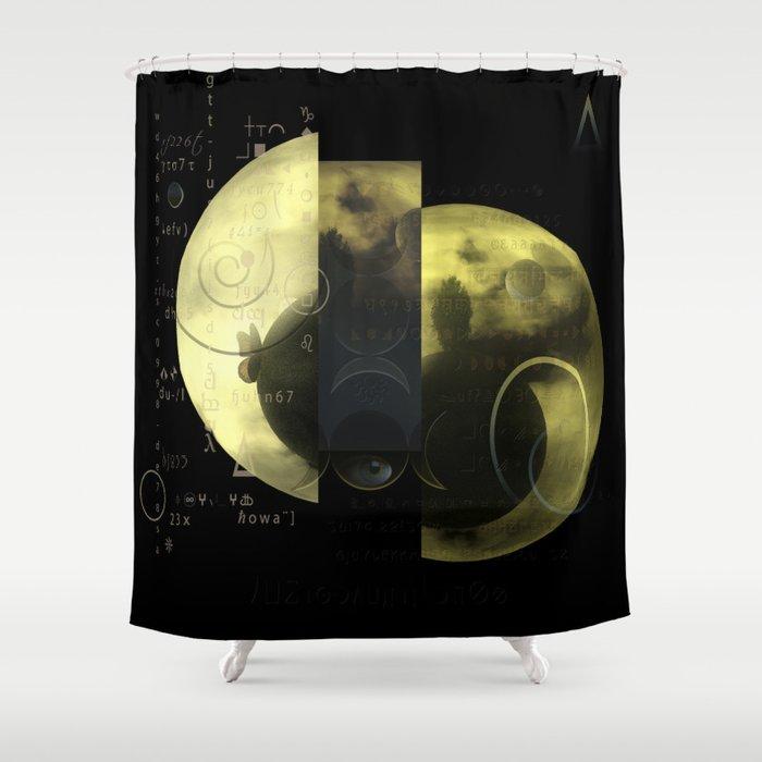 Alpha instructions Shower Curtain