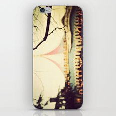 Carousel Goes Round and Round iPhone & iPod Skin