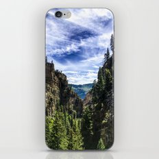 Hanging Lake Trail iPhone & iPod Skin