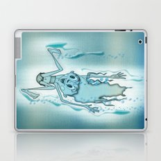 Blue Turquoise Laptop & iPad Skin