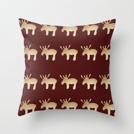Reindeer queues #decor #society6 #buyart Throw Pillow