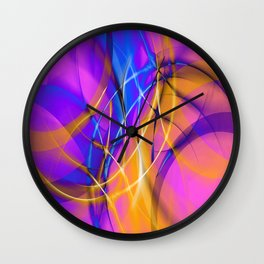 Ring Dance Wall Clock