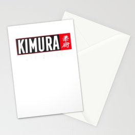 Kimura Jiu Jitsu Shirt BJJ Brazilian Martial Arts Stationery Cards