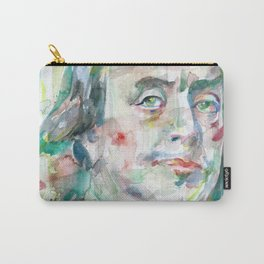 BENJAMIN FRANKLIN watercolor portrait Carry-All Pouch