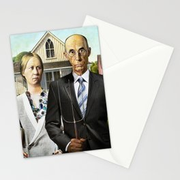 AMERICAN GOTHIC Stationery Cards