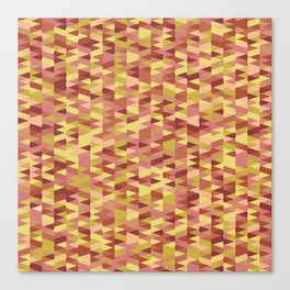 Pointy-Canyon colorway Canvas Print