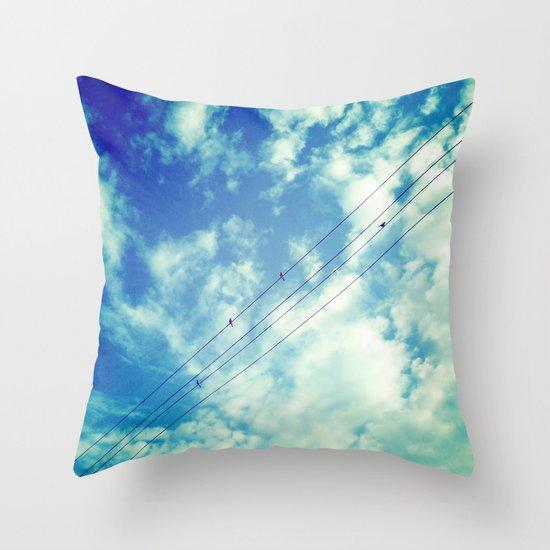 Charging Throw Pillow