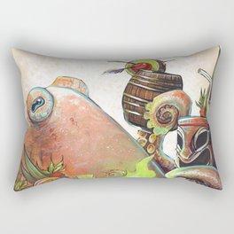 Tiki Octopus Rectangular Pillow