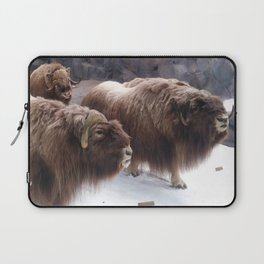 Winter Buffalo Laptop Sleeve