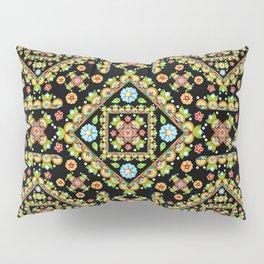 Cottage Garden Parterre Pillow Sham