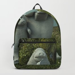 Manatee Mailbox  Backpack