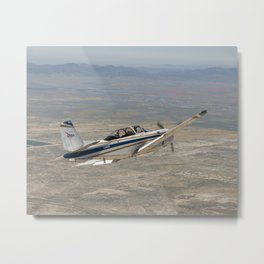 1030. NASA's T-34 Aircraft  Metal Print