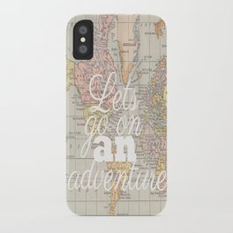 Lets Go On An Adventure  iPhone Case