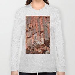 Agathe Log Texture Long Sleeve T-shirt
