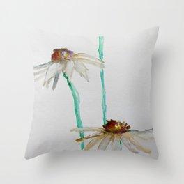 Daisy Daisy Daisy Throw Pillow