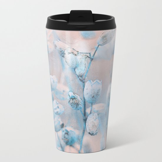 Wild flowers(winter) Metal Travel Mug