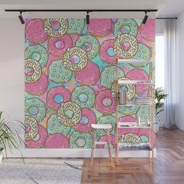 Sweet Donuts Cookies Wall Mural