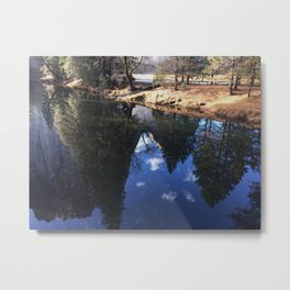 Perfect Mirror Metal Print
