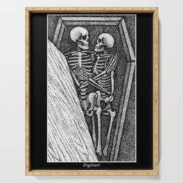 Toujours - Skeleton Lovers Serving Tray