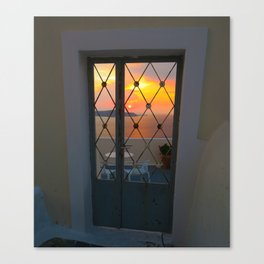 Paradise sunset Canvas Print