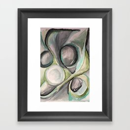 """Ghosts"" Framed Art Print"