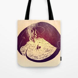 Defensive Dragon Tote Bag