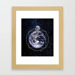 THE CREATION Framed Art Print
