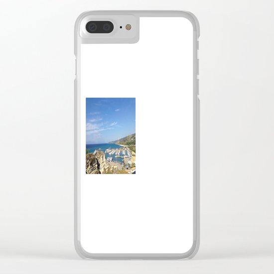 Italian Beach 2 Clear iPhone Case