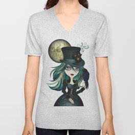 Raven's Moon Unisex V-Neck