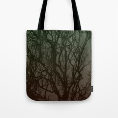 Ombre branches Tote Bag