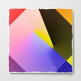 Expressionist Cubes II  Metal Print