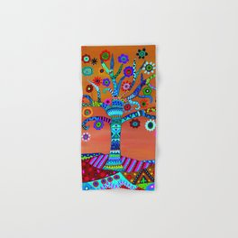 MHURI TREE OF LIFE Hand & Bath Towel