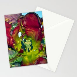 Still life with Red Tulips Stationery Cards