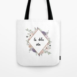Lettering and Watercolor #4 Tote Bag