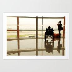 internacionalni aerodrom  Art Print