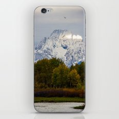 Morning in the Tetons iPhone & iPod Skin