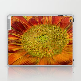 flower of sun (This Art work is in collaboration with the great artist designer Joe Ganech) Laptop & iPad Skin