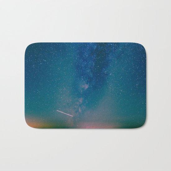 Desert Summer Milky Way Bath Mat